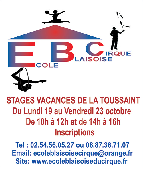 Stage vacances de la Toussaint